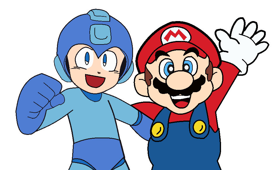 Super MEGA True Buddies PNG and Base by Airman-EXE