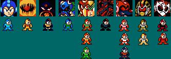 Megaman Robotpasta Power colors by Airman-EXE