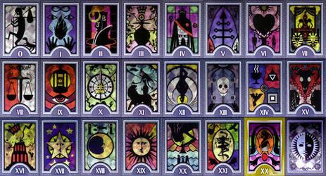 Persona Arcana Cards - Highres