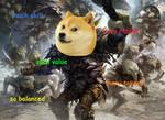 mtg meme - Rabbledoge