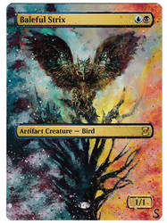 Baleful Strix Alter - large extension by Serafiend