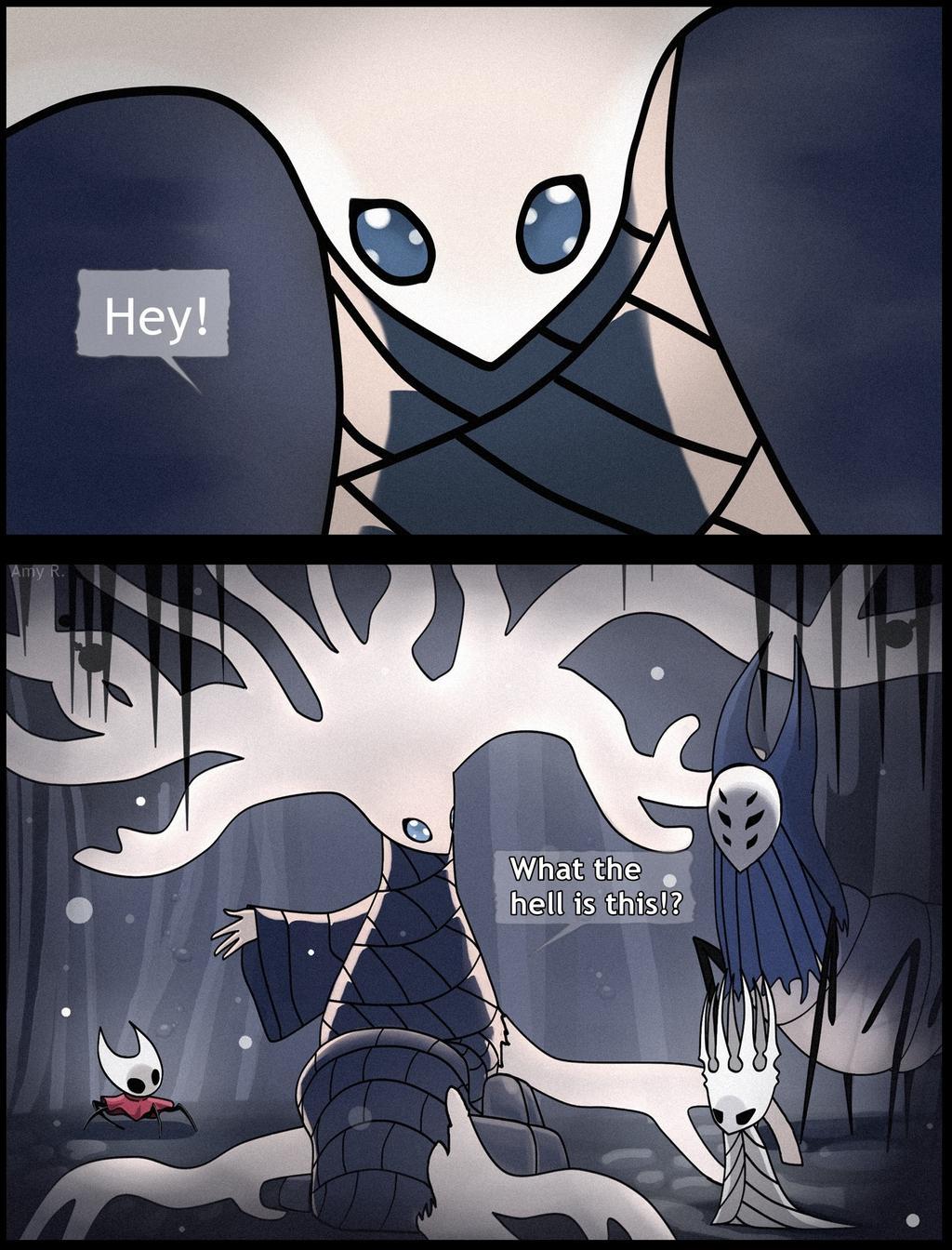 Hollow Knight (meme) by AmyWolfhardt on DeviantArt