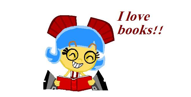 I love books by Peketigregirl