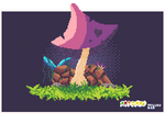 Magic mushroom by Millkydad