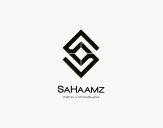 Logo 75: SaHaamz by zainadeel