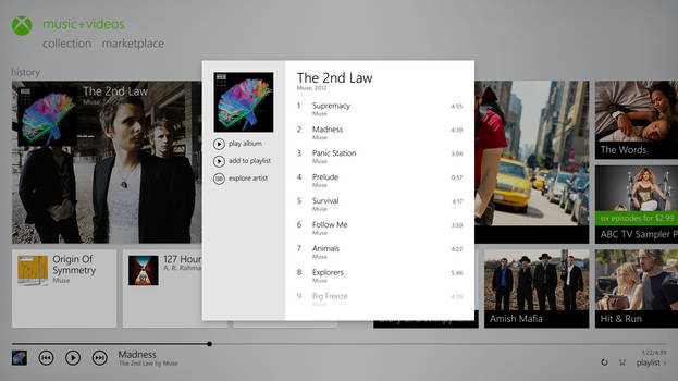 Music+Videos : Frontend 2