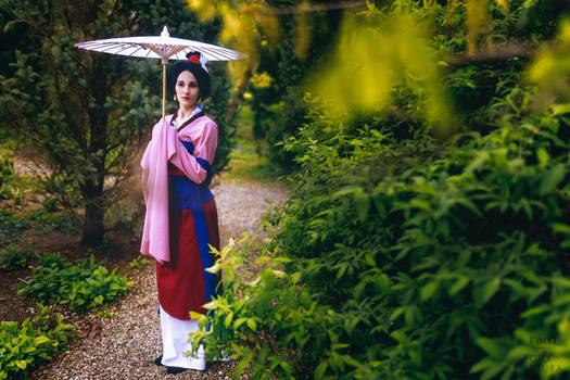 Cosplay Mulan by Kaoricosplayart