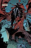 Spawn on the roof by Hyb1rd-1982