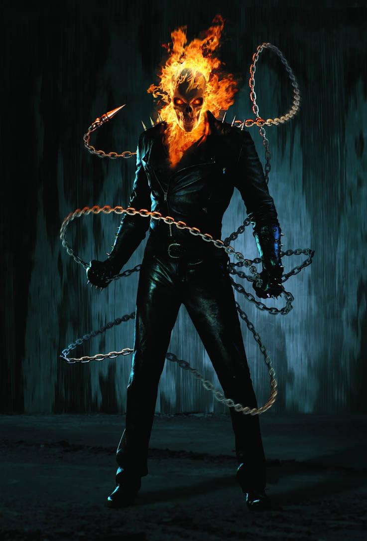 Ghost Rider (Johnny Blaze) by Hyb1rd-1982 on DeviantArt