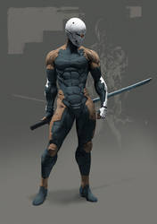 Gray Fox - Frank Jaeger by Hyb1rd-1982