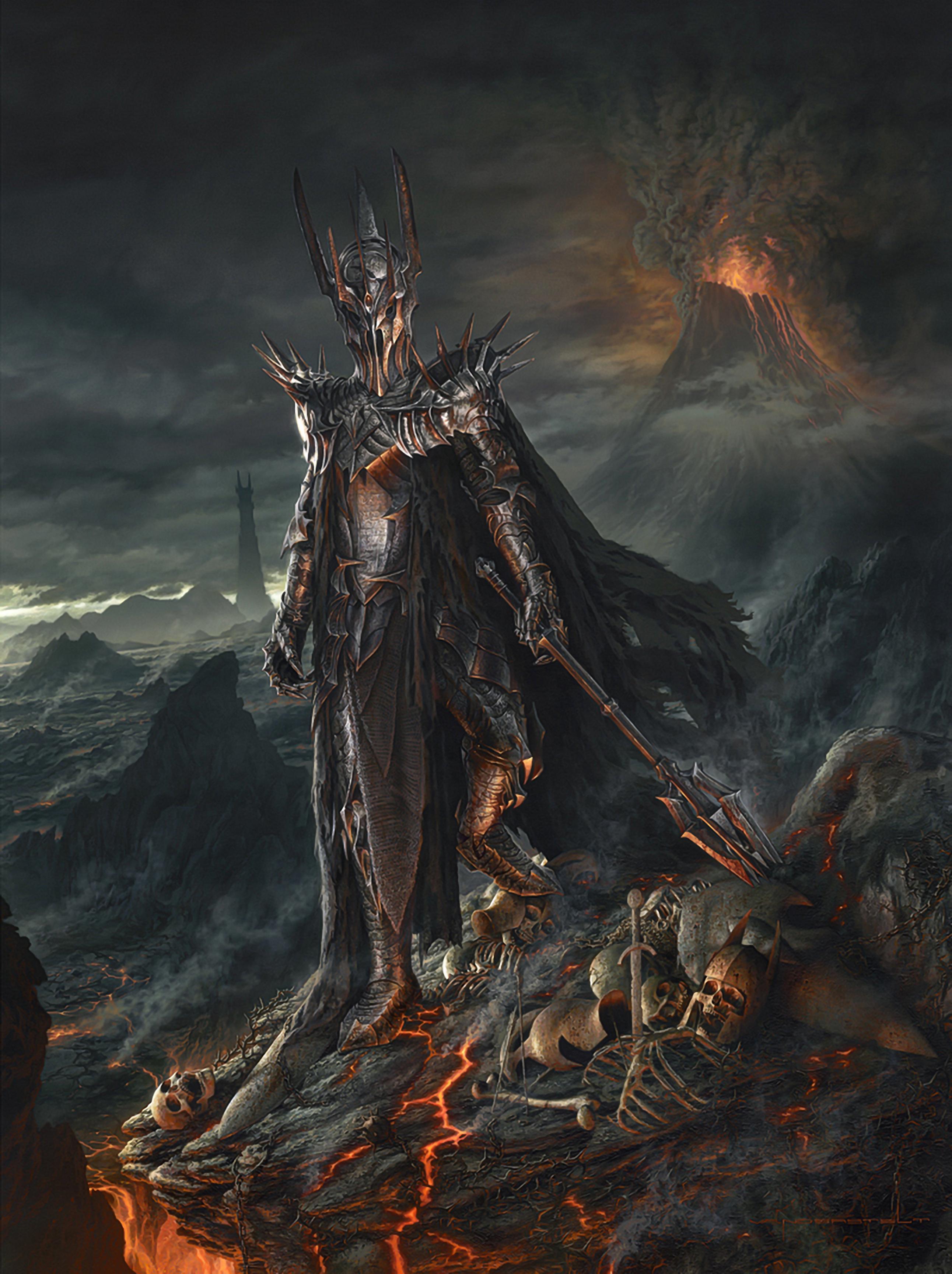 The Dark Lord Sauron - Vanderstelt