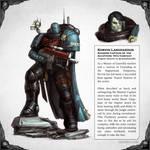 Korvin Laniidaedus - Warhammer 40,000 Fan Art