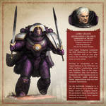 Antigonus Chlorus - The Horus Heresy Fan Art