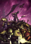 The Rise of the Mantis - Warhammer 40,000 Fan Art