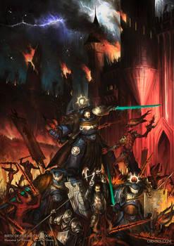 Birth of the Brotherhood - Warhammer 40k Fan Art
