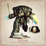 Ranulf Ironfang - The Horus Heresy Fan Art