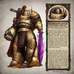 Carnus Kadvar - Warhammer 40,000 Fan Art