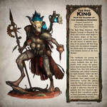 The Red King - Warhammer 40,000 Fan Art