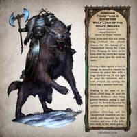Jorkham Frost-fang - Warhammer 40,000 Fan Art