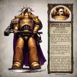 Dekra Akalius - Warhammer 40,000 Fan Art