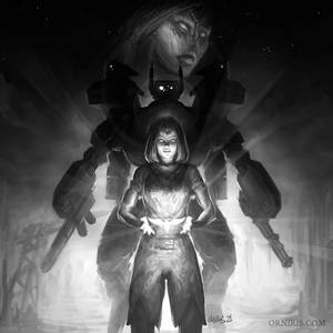 On the Hunter's Watch - Warhammer 40,000 Fan Art