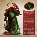 Tsongor, the Twice-Dead - The Horus Heresy Fan Art