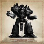 Primarch Daemon Titan - The Horus Heresy Fan Art by Orniris