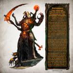 Kephrekh the Undying - Warhammer 40,000 Fan Art