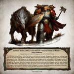 Einridi Battle Wolf - Warhammer 40,000 Fan Art