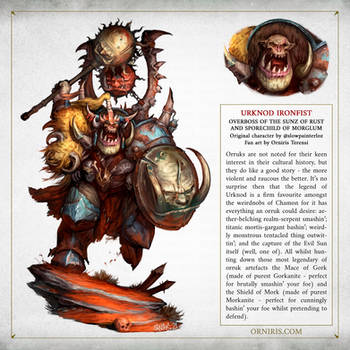 Urknod Ironfist - Warhammer Age of Sigmar Fan Art