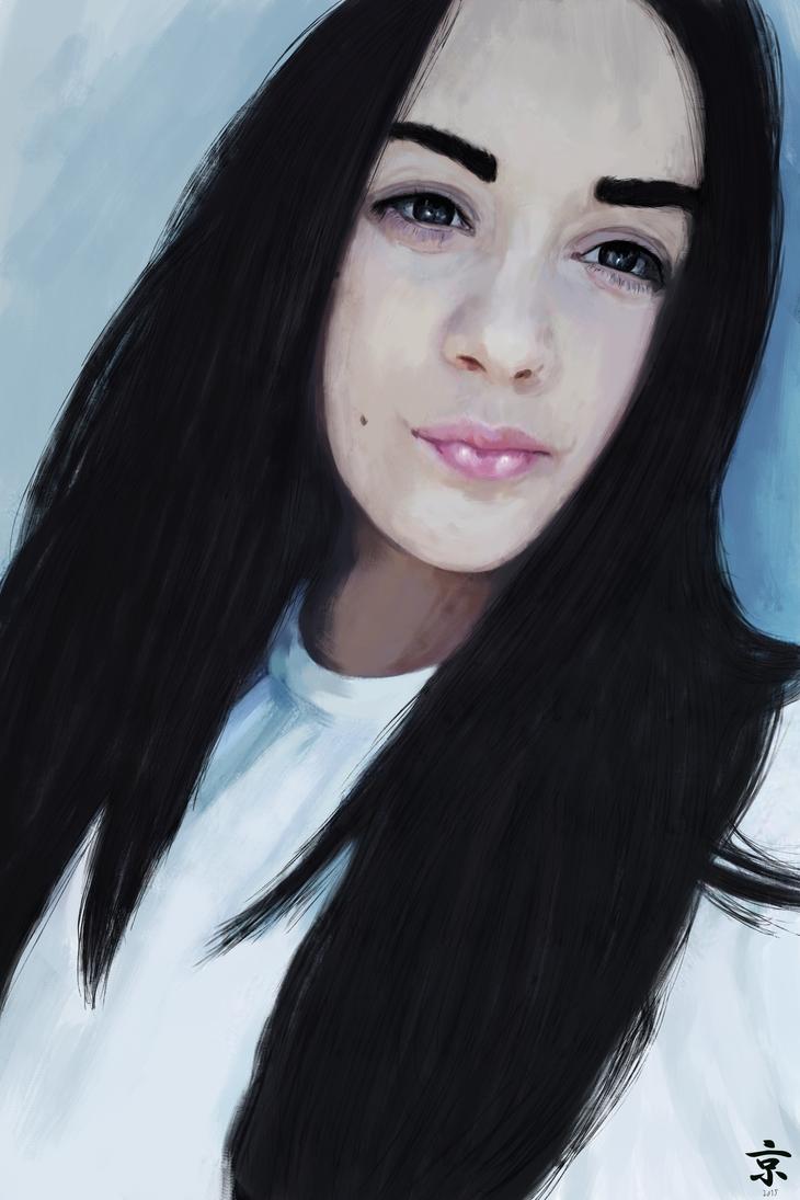 Portrait by kyokouyou
