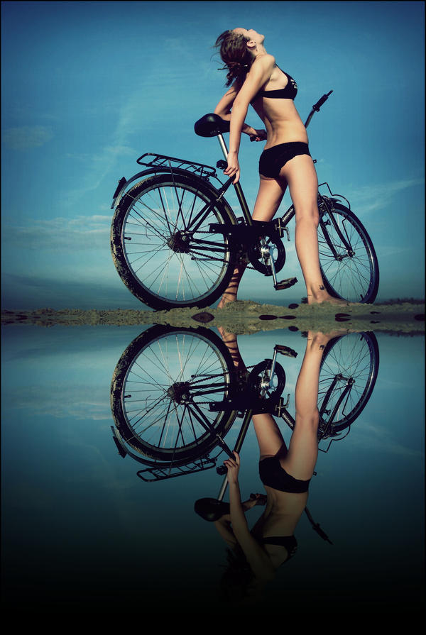 I want to ride my bicycle by devoteeofart