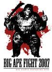Big Ape Fight 2007 T Design by Amano-G