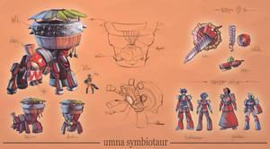 MHFU- Umna Symbiotaur by Amano-G