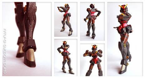 NMS-01 Gundam Onika by Amano-G