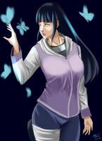 Hyuga Hinata Fanart by carlhains23