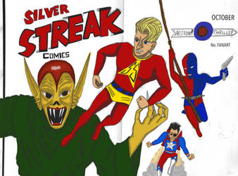 Silver Streak Comics by Cassiusthedemon