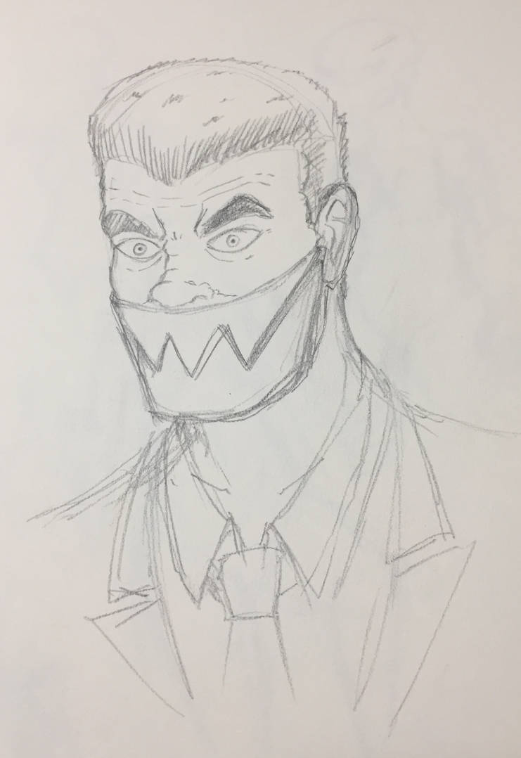 Sketch #10: Iron Jaw by Cassiusthedemon