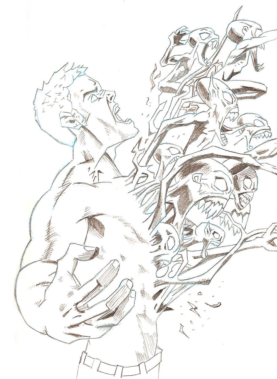 Inner demon drawings