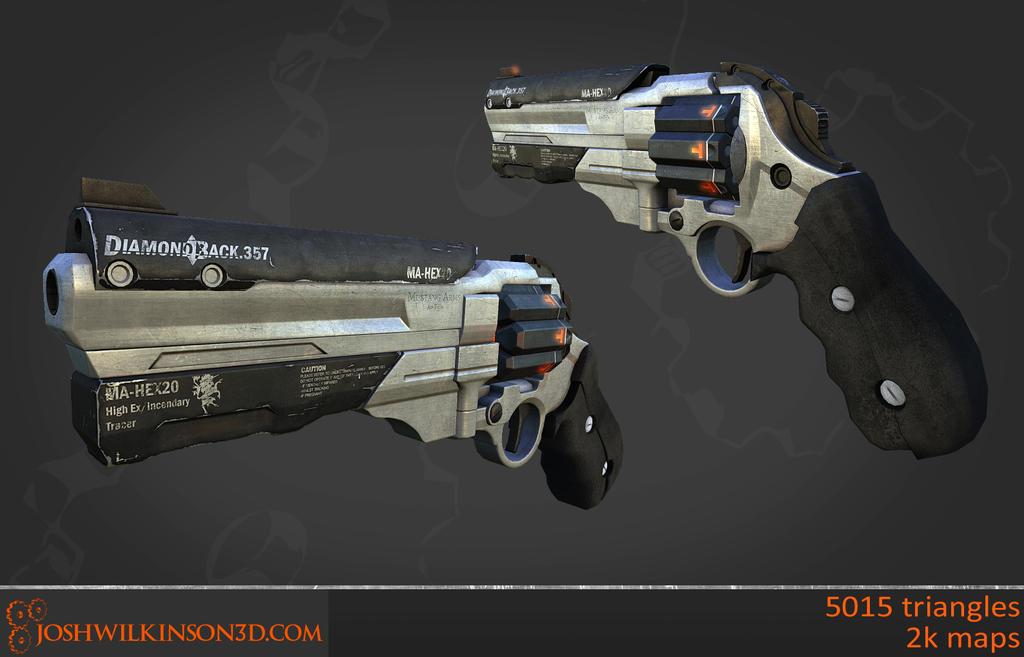 Sci-fi Revolver [WIP] by BringMeASunkist