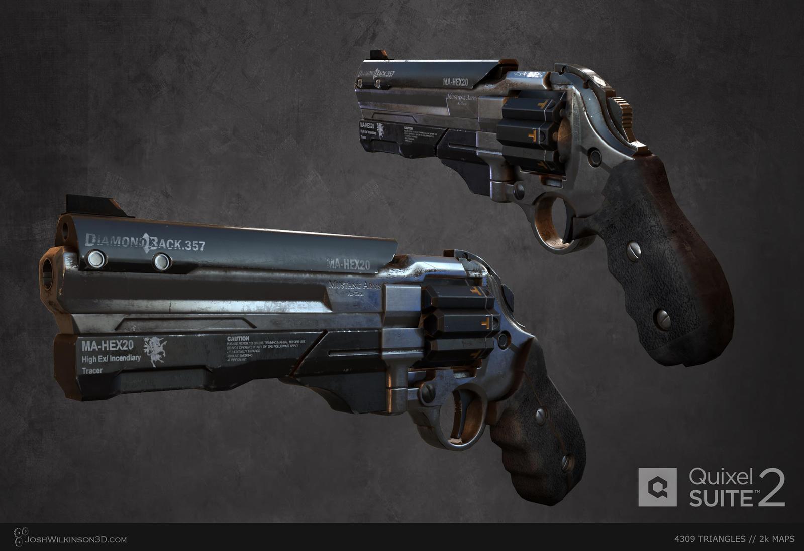 Sci-Fi Revolver [final] by BringMeASunkist
