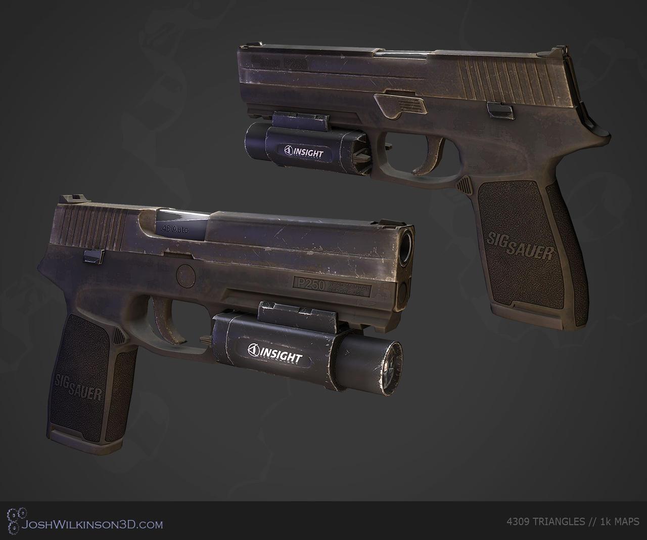 SIG Sauer P250 [renders] by BringMeASunkist