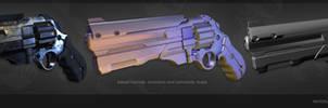 Sci-Fi Revolver [meshes]
