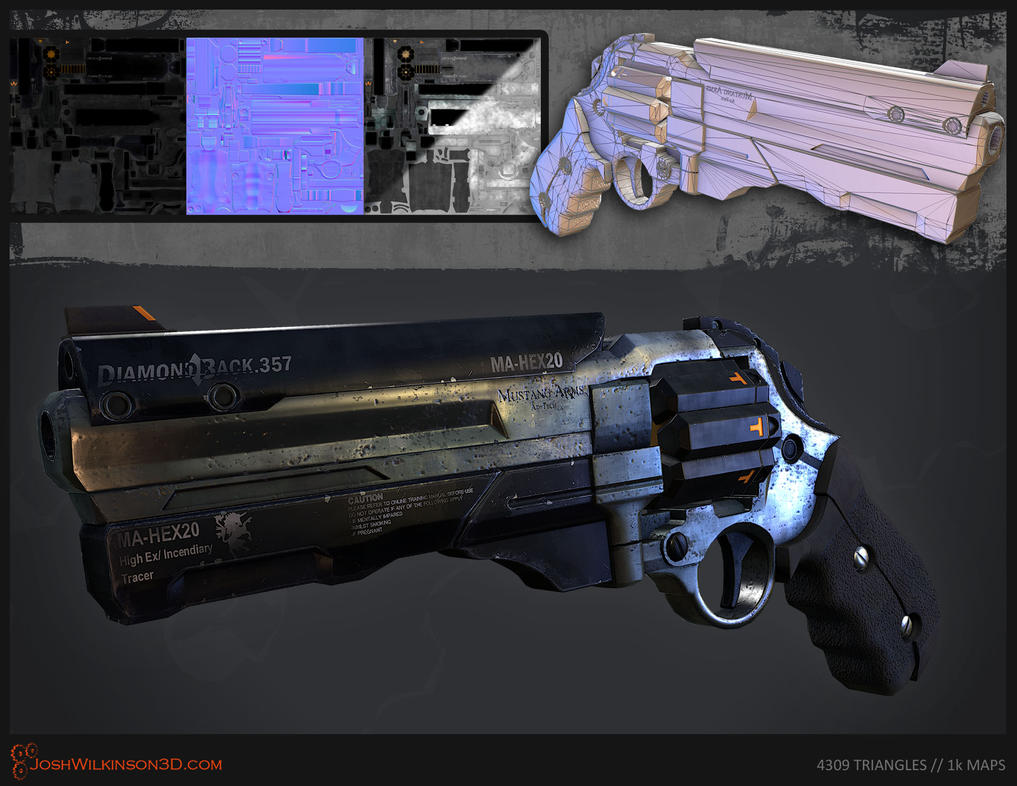 Sci-Fi Revolver [breakdown] by BringMeASunkist