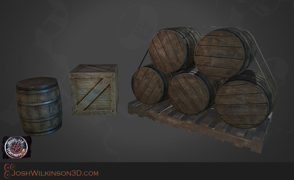 Wooden props by BringMeASunkist