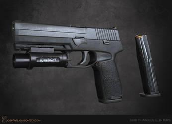 SIG Sauer P250 [retexture] by BringMeASunkist