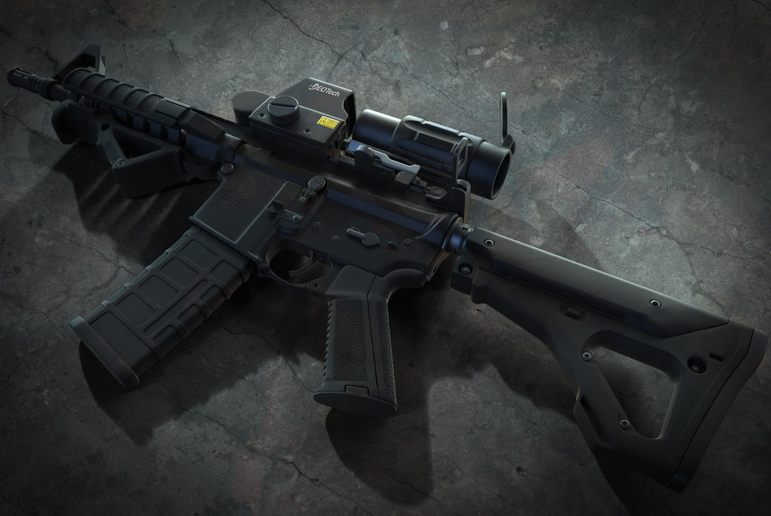 AR15 (portside) by BringMeASunkist