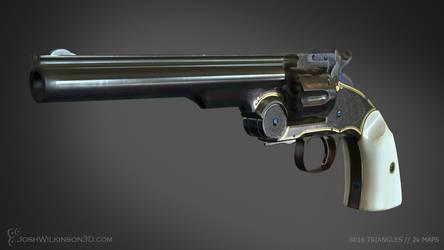 Schofield Revolver front