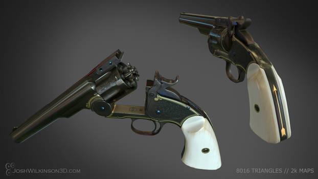 Schofield Revolver details