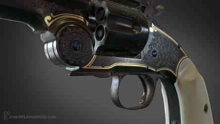 Schofield Revolver close